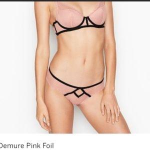 """Victoria's Secret SET """"Luxe Lingerie"""" Bra & Panty"""